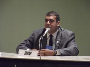 Rodrigo de Medeiros, membro da JusDh e da RENAP
