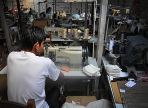 Flagrante de trabalho análogo à escravidão em fornecedor das Lojas Americanas (fonte: Repórter Brasil/2013)