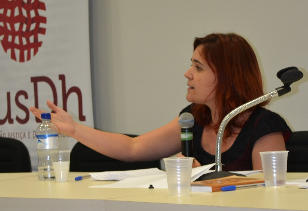 Marjorie Marona, pesquisadora do Observatório de Justiça Brasileira da UFMG.