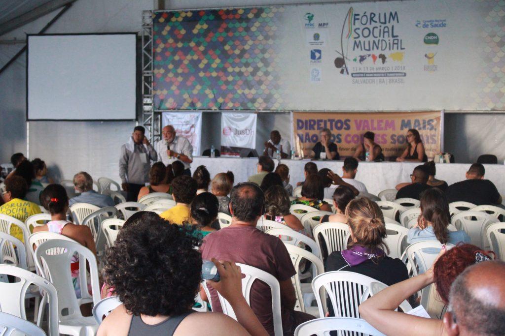 No Fórum Social Mundial, debate aponta que falta de diversidade limita atuação do Judiciário